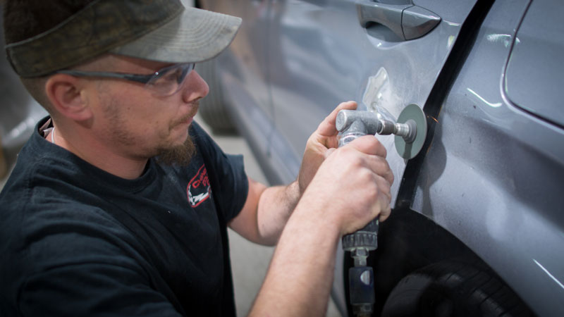 chandlers collision repair shop columbia maryland
